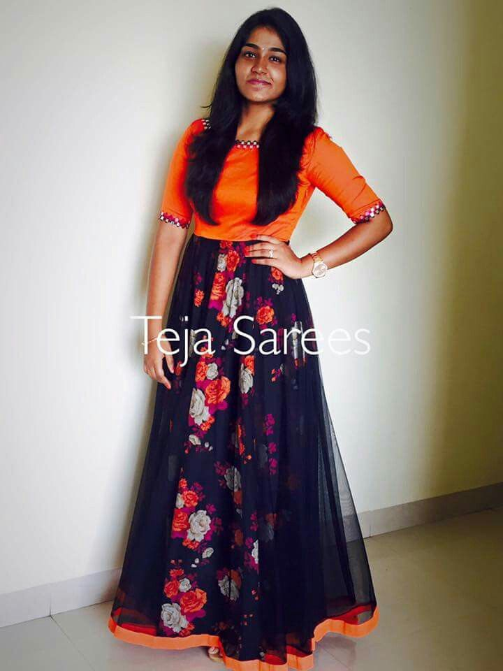 830325dd7e Lehenga Gown, Half Saree Lehenga, Anarkali Dress, Anarkali Suits, Sarees,  African