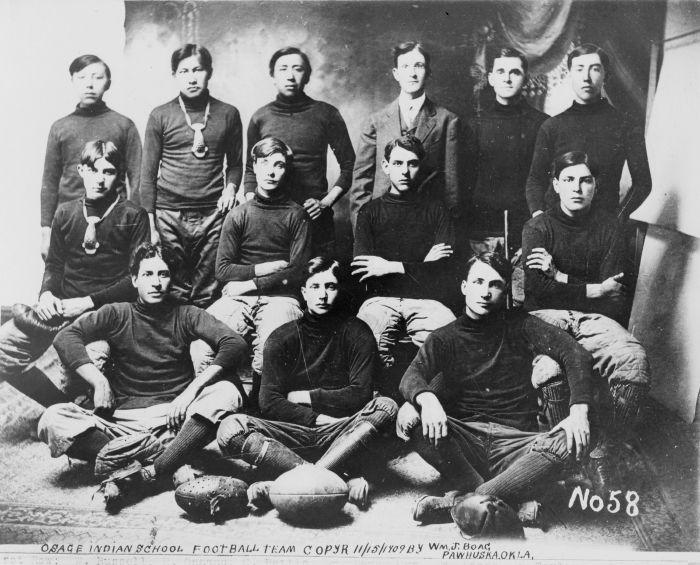Osage Indian Football Team 1909   Native American Stuff
