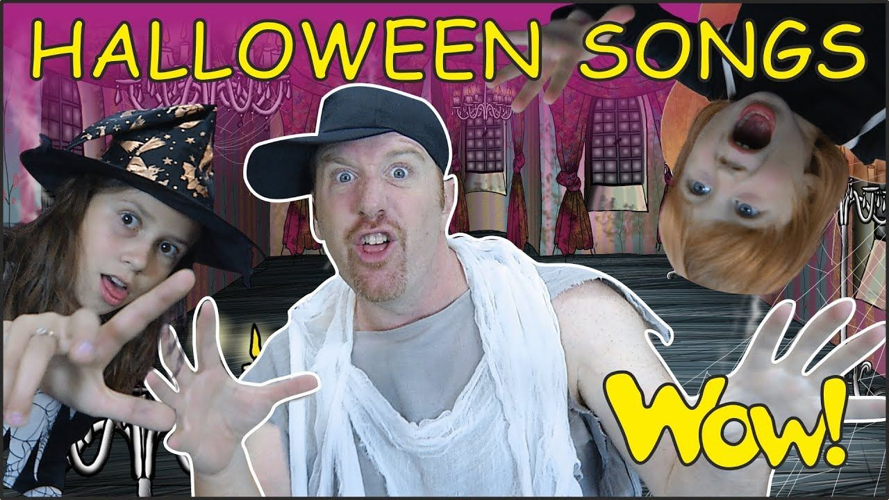 Halloween Party Songs for Kids NEW from Steve and Maggie