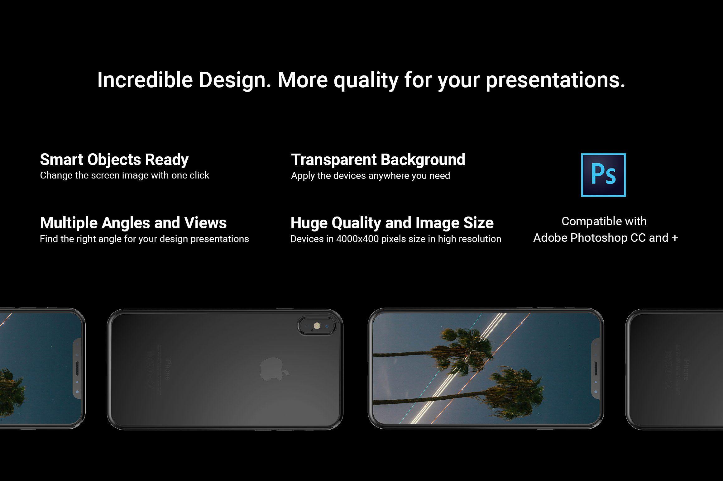 Iphone X Mockup Full Package Personal Presentation Iphone Mockup Mockup