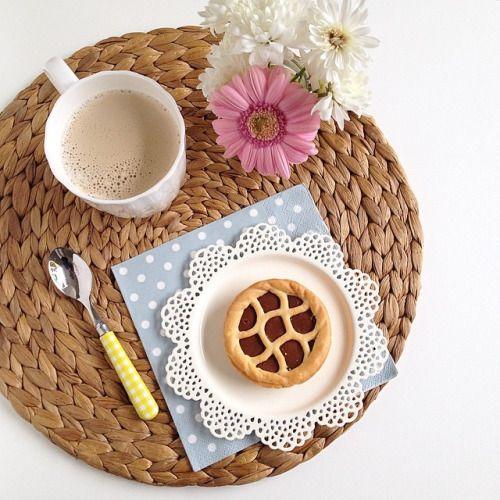 #spring #primavera #coffetime ❤☺ ❤  #beautiful  #yummy #good #sweet   #foodblogger  ♡ ㋡  #foodlover  #lovechocolate  ♥   ツ