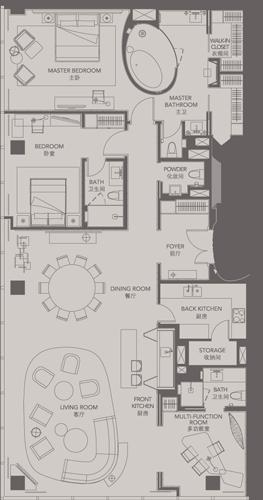 Standard Suites Unit C _ Four Seasons Place Pudong