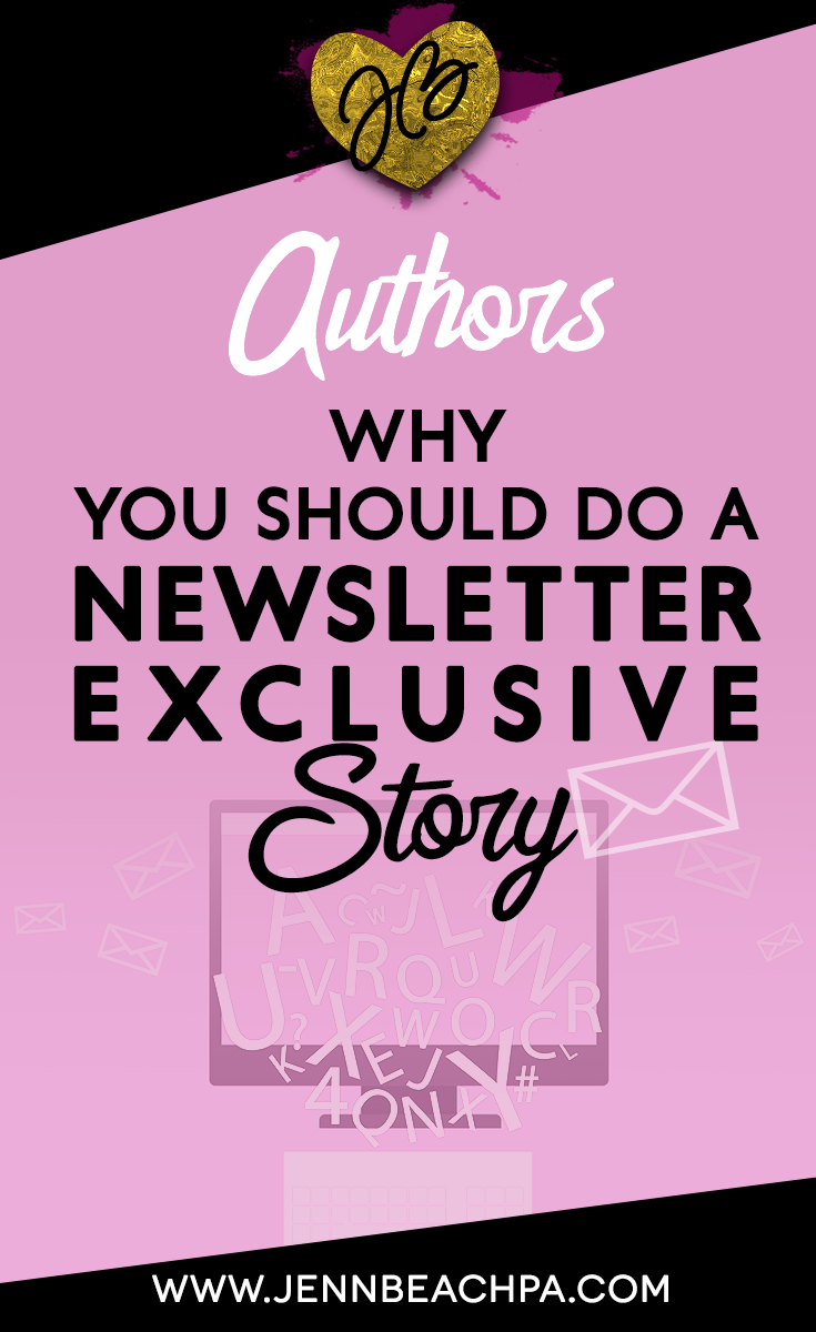 Why Authors And Writers Should Do Newsletter Exclusive