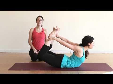 bow pose tip improve your moksha yoga practice of bow