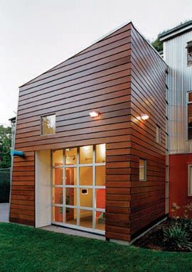 ipe siding is extremely popular with modern home design because of the clean aesthetic and extremely long life of ipe wood siding