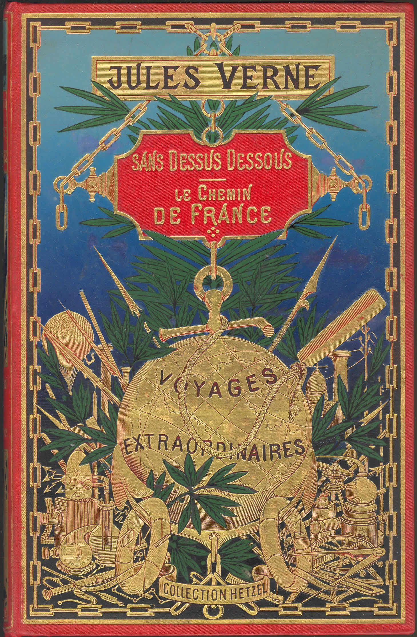 Jules Verne Hetzel 1905 Books Jules Verne Jules