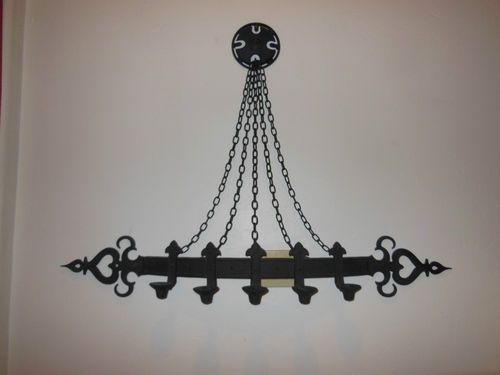 Vintage Sexton Medieval Metal Wall Sconce Gothic Candelabra Hotel Lighting USA | eBay