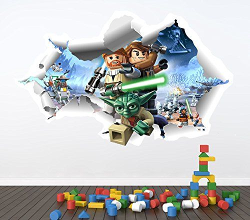 Lego wall sticker http://wallartkids.com/lego-wall-stickers   Wall ...