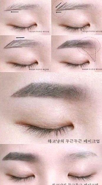 Tutorial - Feminine Hanbok Makeup by Heizle   Korean ...