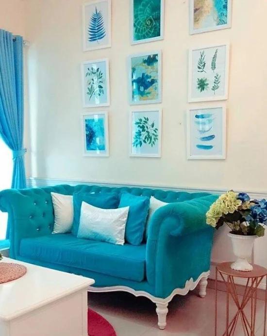15 Inspirasi Dekorasi Rumah Dengan Kombinasi Warna Biru Soft Ide Dekorasi Rumah Dekor Dekorasi Rumah