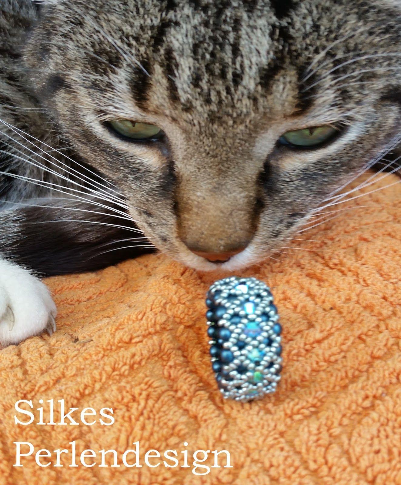 Silkes Perlendesign: Bandringe