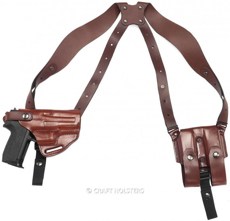 Leather Shoulder Holster System Craft Holsters Leather