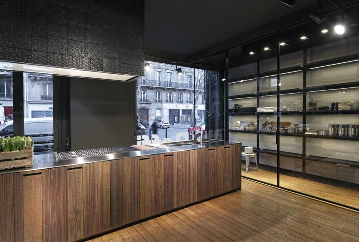 Cuisines Boffi Gallery Showroom Boffi Paris Kitchen Showroom Wine Cellar