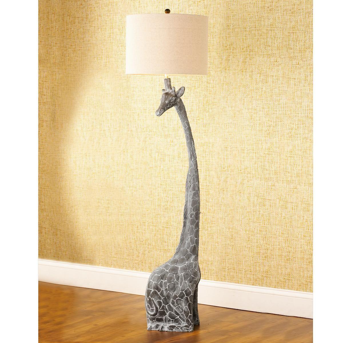 Giraffe lamp shade - Funky And Different And Fufills My Giraffe Love Floor Lamp