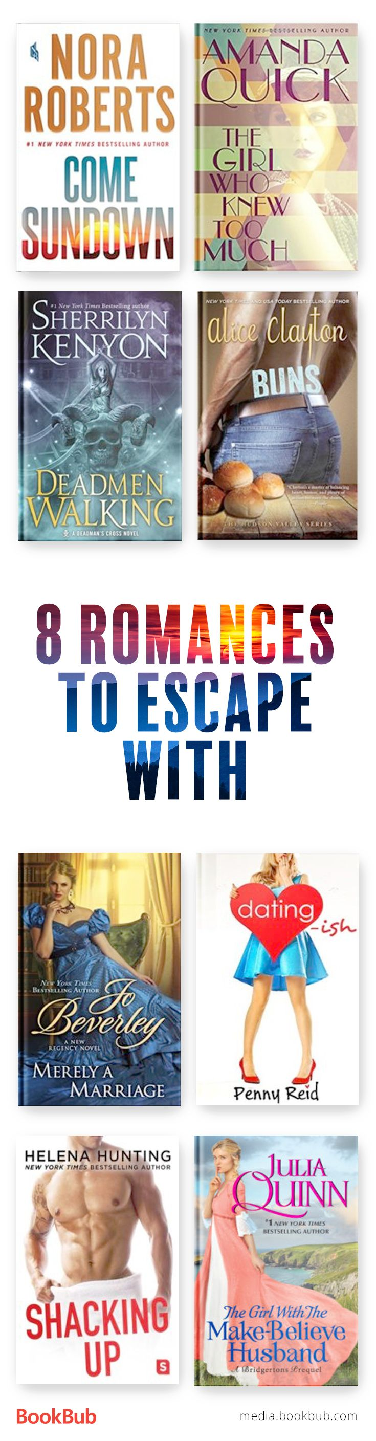 8 Great Romances to Read in May Romance books