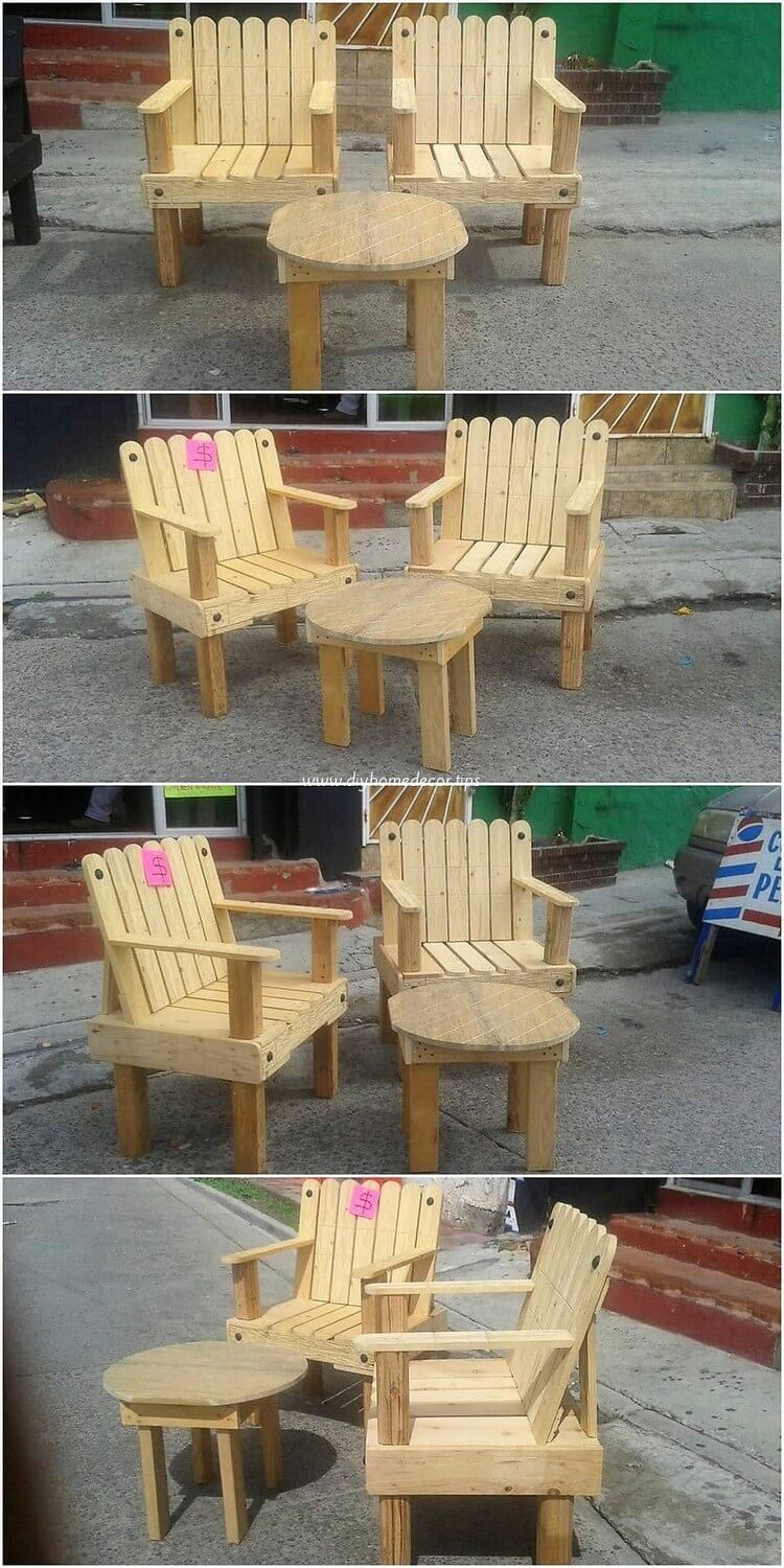 Interesting Outdoor Furniture Is Presented Here And We Are Sure That The Pallet Designing Over The Furnitur Wood Pallet Recycling Pallet Furniture Wood Pallets