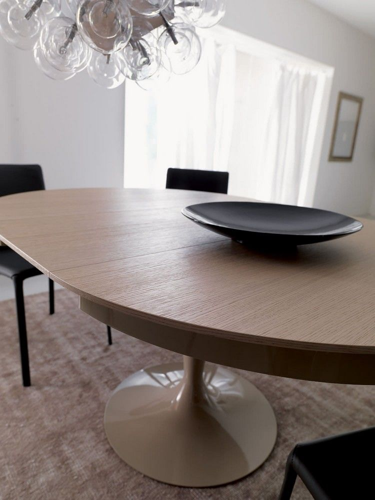 Wunderbar Runde Esstische Als Design Highlight: Modern Und Ausziehbar