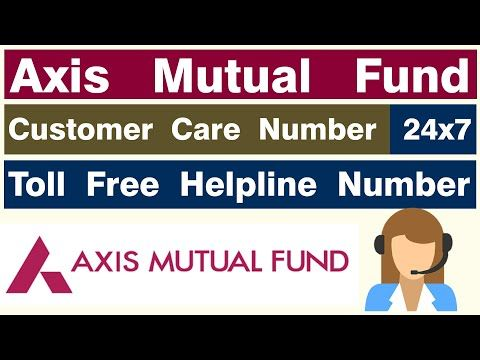axis mutual fund customer care toll free no