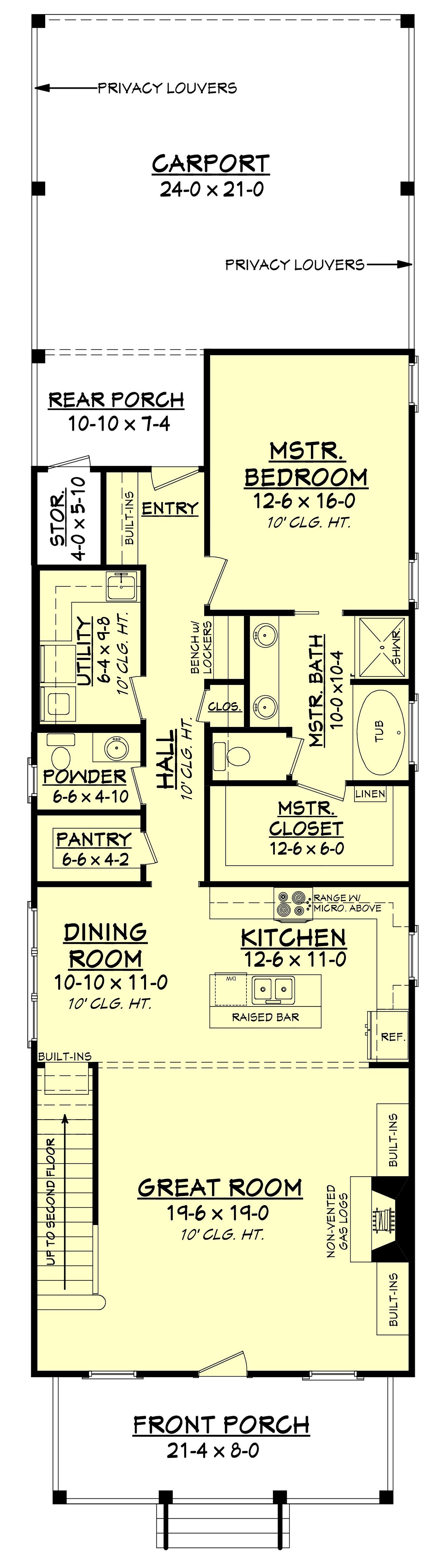 Bellegrass cottage ii house plan house tiny houses and cabin