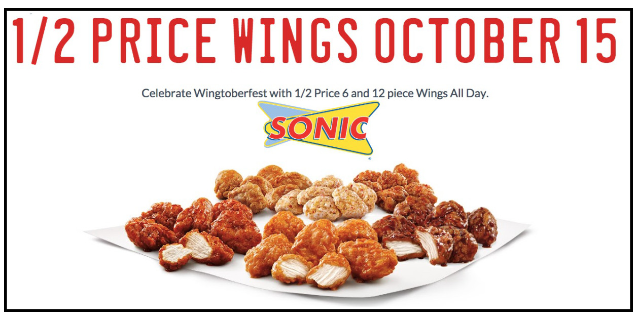 sonic 1 2 price wings