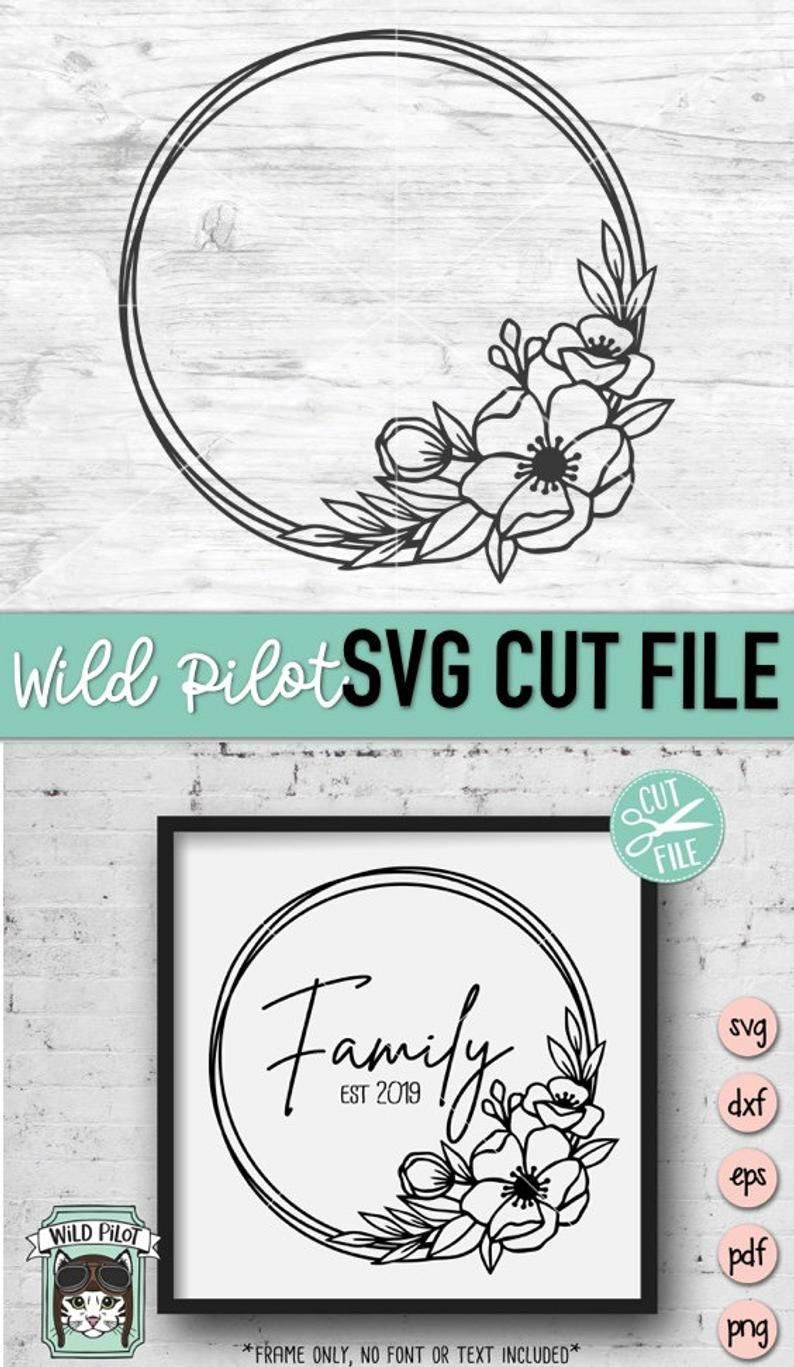 60 /% OFF Ai Frames Svg Vector Png,Monogram Files Eps Flowers svg Pattern Frames Svg Spring Svg Vinyl Design dxf Floral Flower svg
