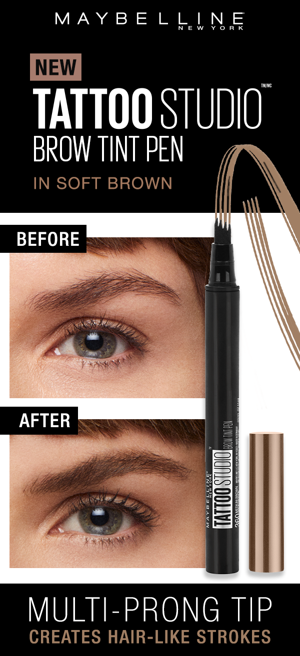 Maybelline TattooStudio Brow Tint Pen Brow tinting