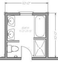 Bath Room Layout 7x10 61 Ideas #bath   Bathroom layout ...