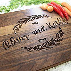 Housewarming Gift Personalized Cutting Board Custom Cutting Board Wedding Gift Anniversary Gift Engraved Cutting Board