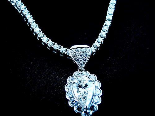 Pt900  diamonds