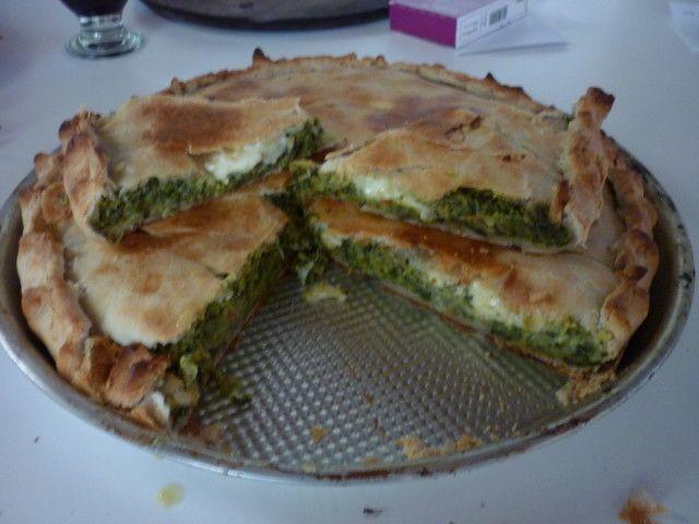 tarta de acelga receta facil