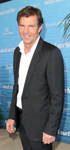 Dennis Quaid on the Set of Soul Surfer - Zimbio
