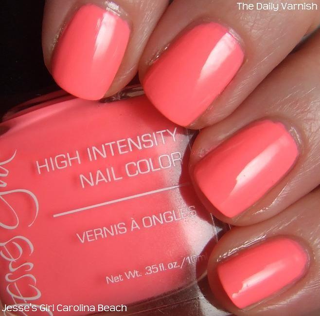 Jesses girl nail polish | Jesse\'s Girl Carolina Beach | The Daily ...