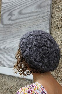 I love the texture in this hat!! This is a collection of patterns. 7 in total..go check it out!