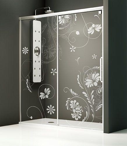 Resultado de imagen para decoracion mamparas de ducha - Mamparas para duchas fotos ...