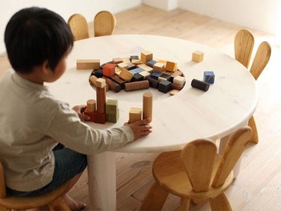 Ecological And Funny Furniture For Kids Bedroom By Hiromatsu - Ecological-furniture-for-kids-bedroom-by-hiromatsu