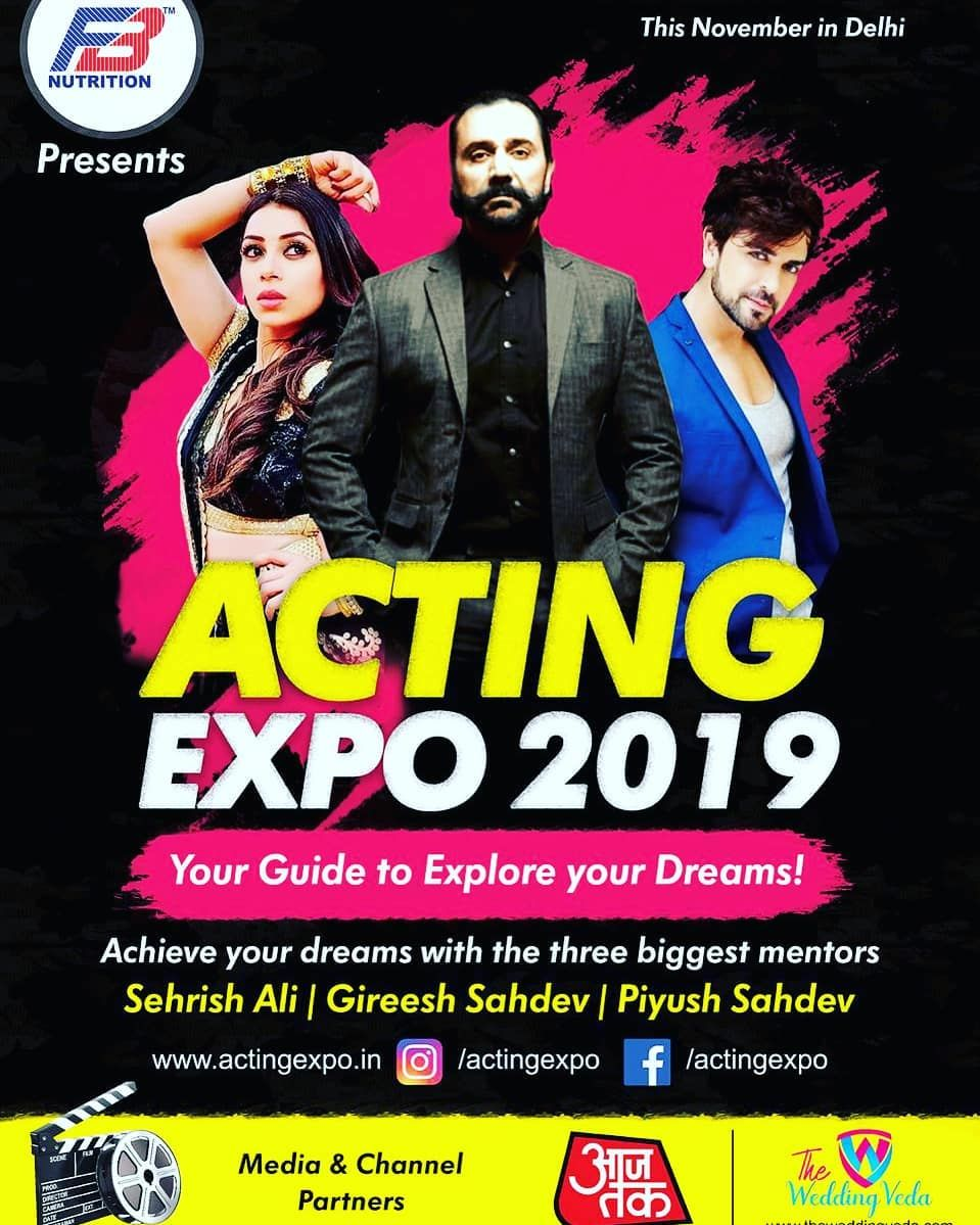 The wait is finally over!!❣️ Here we are bringing to you the best acting Expo of 2019💎  If you are l...