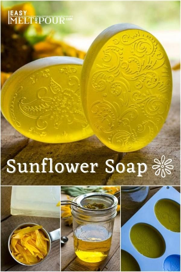 Photo of Sunflower Infused Melt & Pour Soap