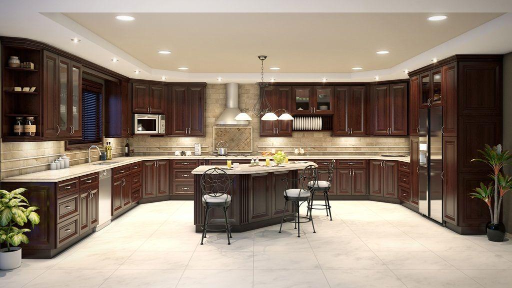 Kitchen Cabinet Hardware For 2020 Kitchens That Wow Your Space Dark Brown Kitchen Cabinets Kitchen Remodel Kitchen Design