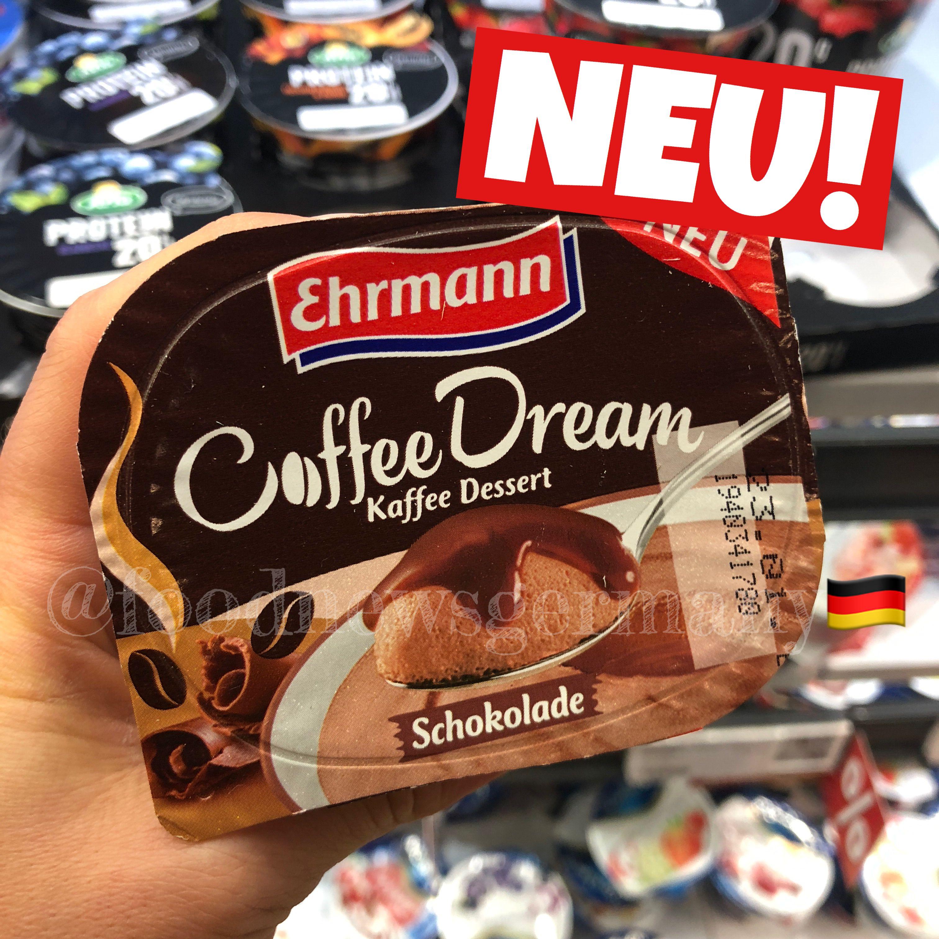 EHRMANN COFFEE DREAM ☕️🍨😇. Neu, foodnews, foodnewsgermany