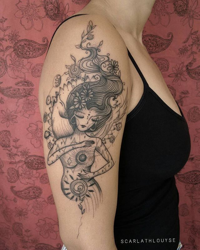 Image result for gaia symbol | Sleeve tattoos, Mother ...
