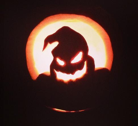 my pumpkin carving 2013 oogie boogie halloween nightmare before rh pinterest co uk