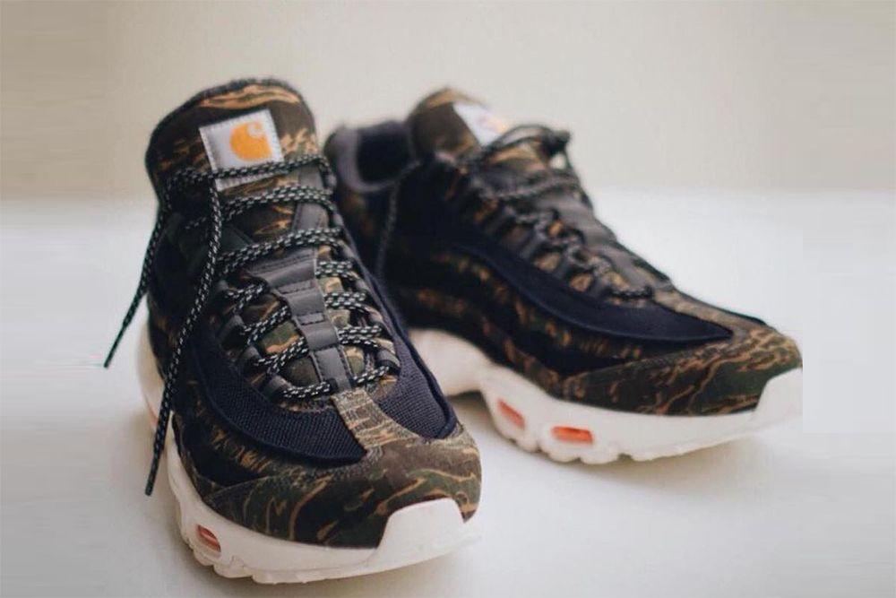 Oto pierwsze ujęcie butów Carhartt WIP x Nike Air Max 95