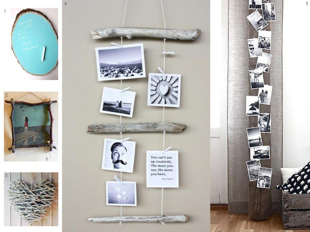 El bosque en casa ramas troncos y manualidades en madera for Manualidades para decorar la casa
