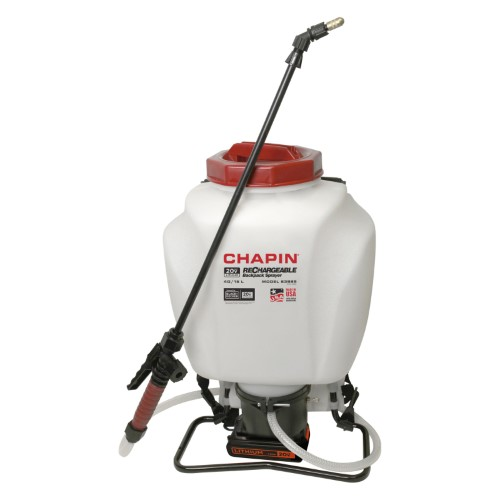 Chapin Black Decker 4 Gallon Wide Mouth Battery Powered Backpack Sprayer Amazing Gardens Cool Backpacks Best Grow Lights