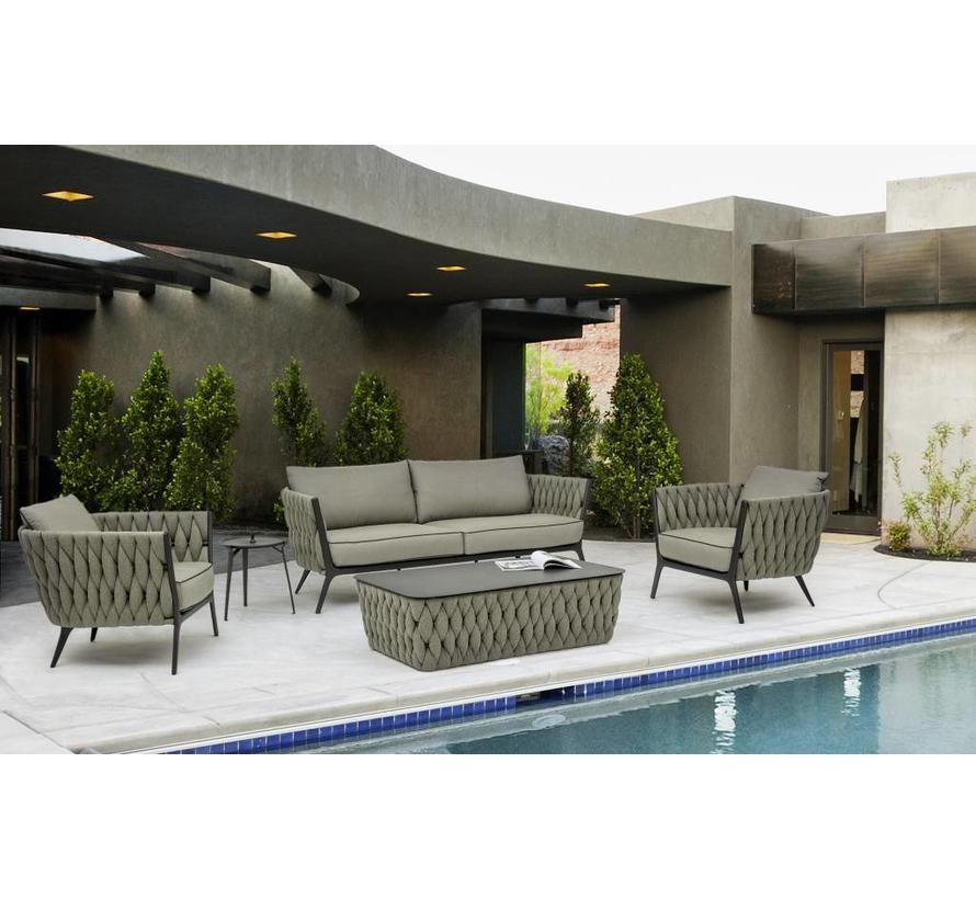 Lounge Tisch Xilos Outdoor Gartentisch Wetterfest Lounge