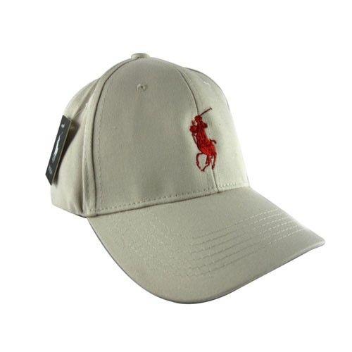 COM - Cheap Ralph Lauren 1005 Chino Hat In Stone Grey Sale Ralph Lauren