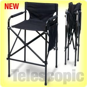 Nice EARTH PRODUCTS STORE EARTH U201cTELESCOPICu201d TALL DIRECTORS CHAIR, FOLDS UP  SMALL.