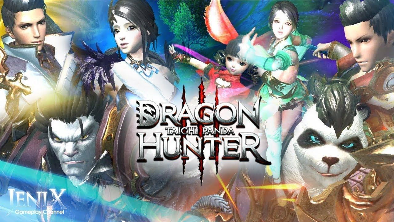Taichi Panda 3 Dragon Hunter Gameplay / Open World MMORPG