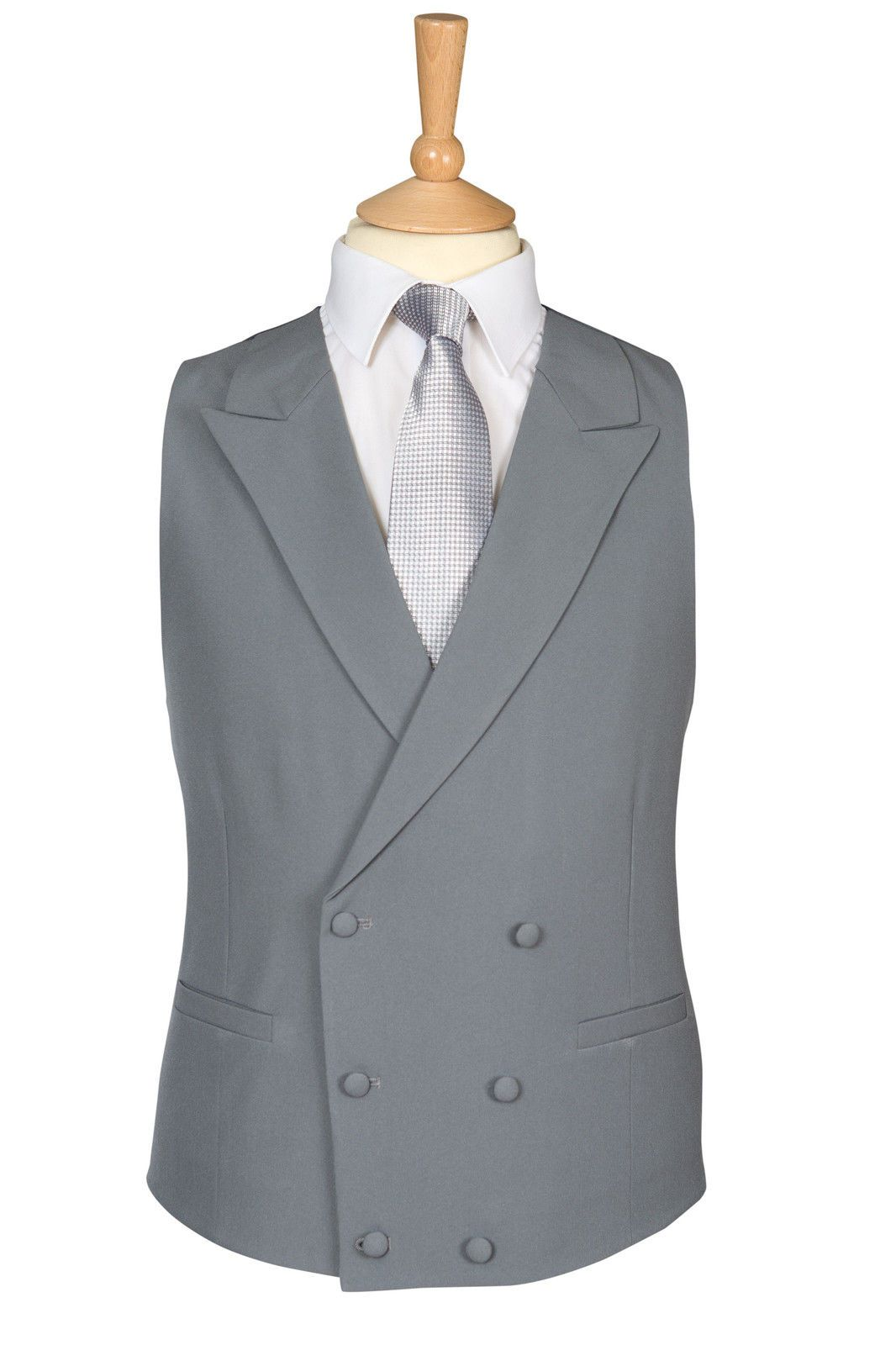 Wedding dress suit  Mens new royal ascot dove grey double breasted wedding dress suit