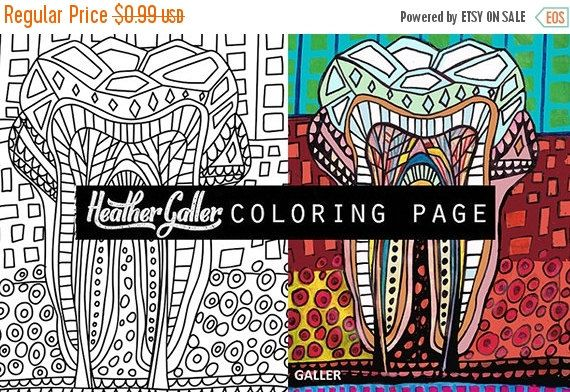 60% Off Today- Dental coloring, Dentist Teeth Tooth Anatomy coloring ...